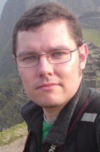 Angry Robot author Cameron Johnston