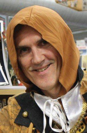 Angry Robot author Craig Cormick