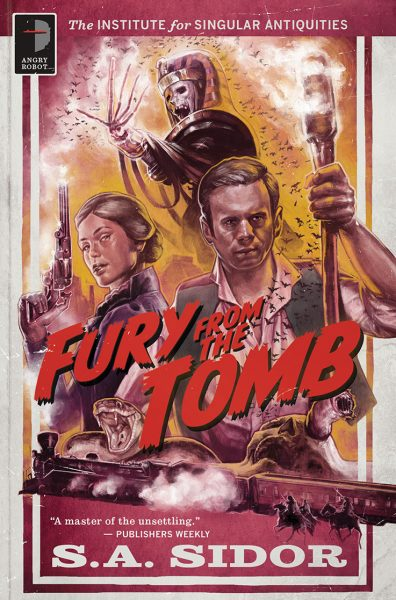 Fury From the Tomb by S A Sidor