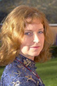 AR Author Jaine Fenn, photo by James Cooke