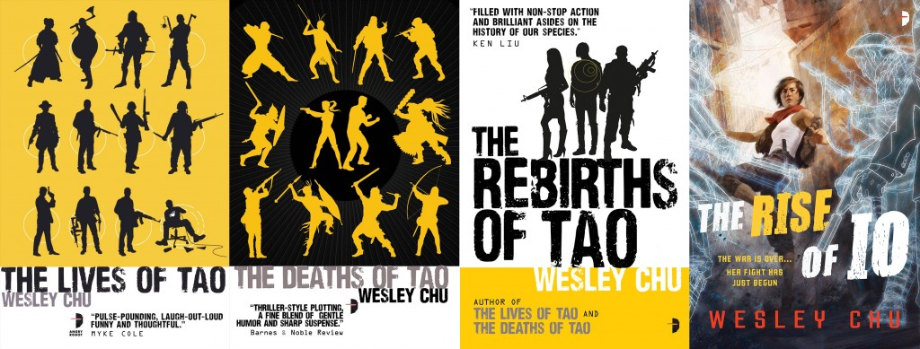 Tao and Io novels by Wesley Chu