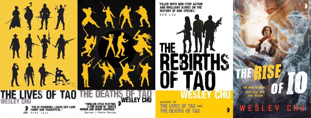 Tao and Io novels by Wesley Chu