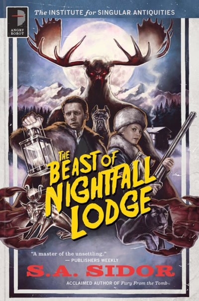 The Beast of Nightfall Lodge by S A Sidor