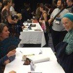 Emma Newman at Mass Signing