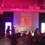 Neil Gaiman @ Awards Do